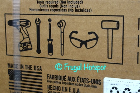 Lifetime Deck Box tools required | Costco