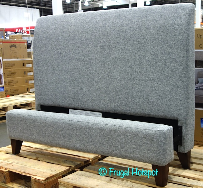 Northridge Home Cecelia Upholstered Bed | Costco Display