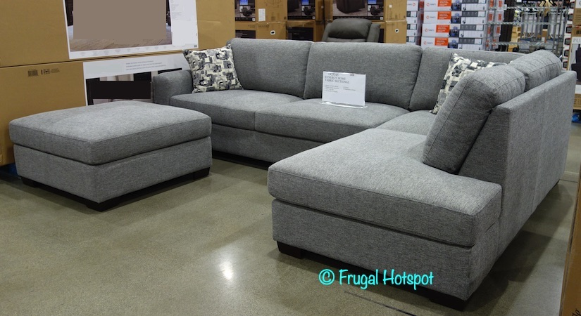 Synergy Home Fabric Sectional | Costco Display