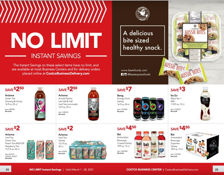 Costco Coupon Book Business Center MARCH 2021 Page 24 Page 25