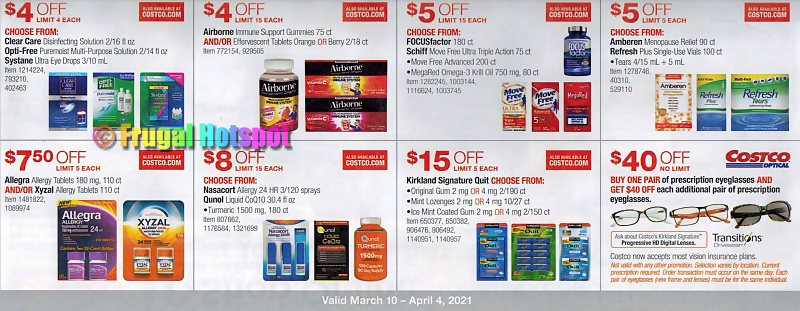 Costco Coupon Book MARCH 2021   PAge 20