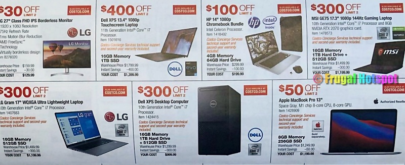 Costco Coupon Book MARCH 2021   Page 11b