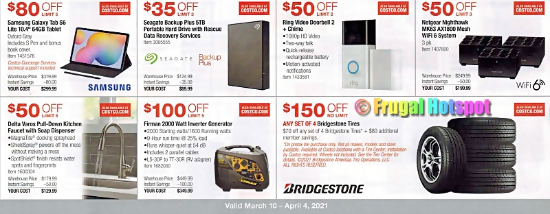 Costco Coupon Book MARCH 2021   Page 12