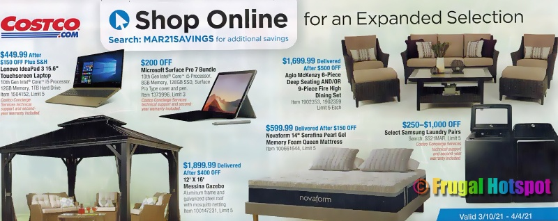 Costco Coupon Book MARCH 2021   Page 21