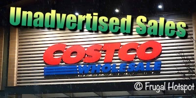 Costco Unadvertised Sales