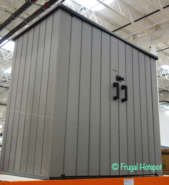 Lifetime Outdoor Storage Shed | Costco Display