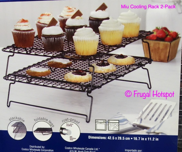 Miu Cooling Rack 2-Pack details | Costco
