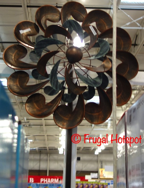 Two Tone Metal Wind Catcher | Costco Display