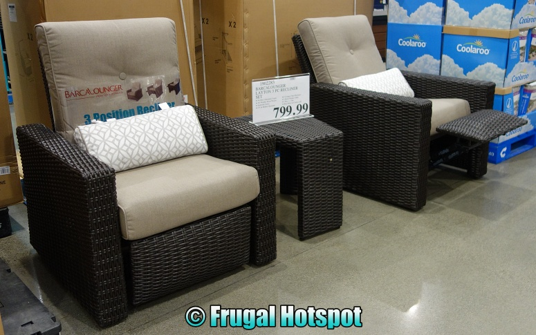 BarcaLounger Layton Recliner 3 pc Set | Costco Display