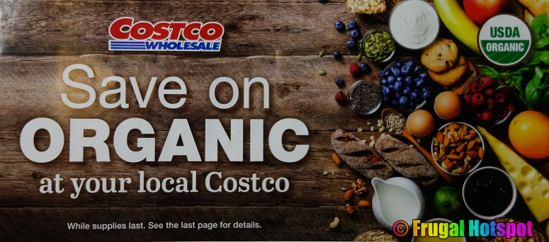 Costco Organic Coupon Book MARCH 2021