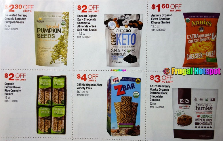 Costco Organic Coupon Book MARCH 2021 Page 2 A