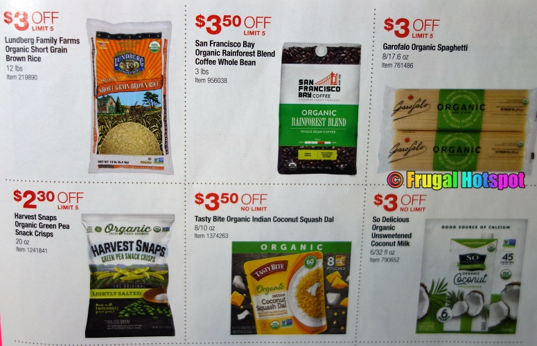 Costco Organic Coupon Book MARCH 2021 Page 3 A