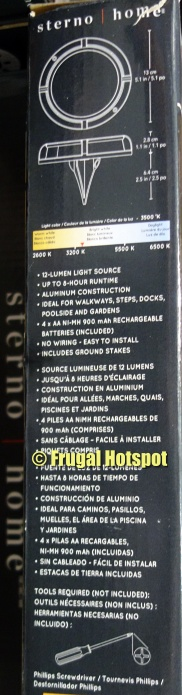 Details of Sterno Home Solar LED Multi-Surface Lights   Costco