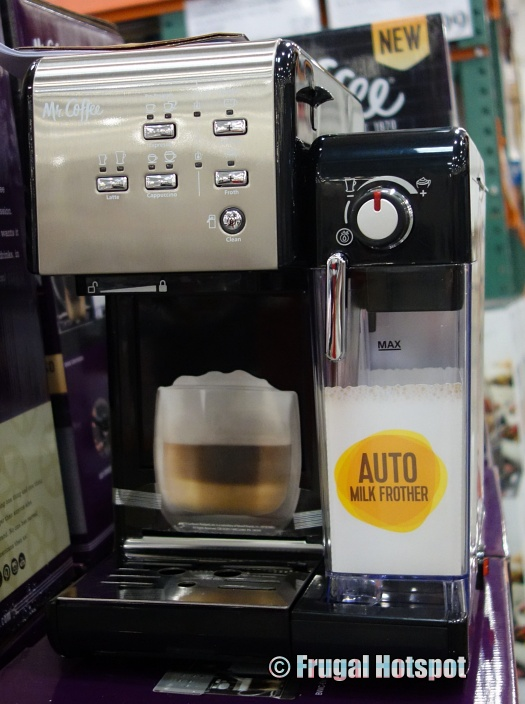 Mr. Coffee One-Touch Coffeehouse Espresso Maker | Costco Display