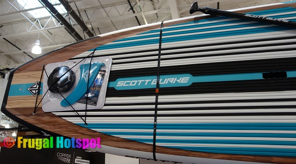 Scott Burke Composite Stand Up Paddleboard and fin | Costco