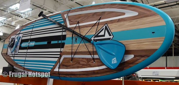 Scott Burke Composite Stand Up Paddleboard angled view | Costco