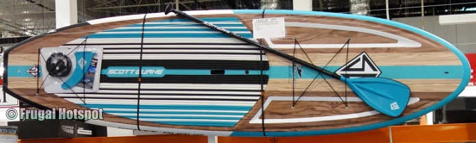 Scott Burke Composite Stand Up Paddleboard front view | Costco