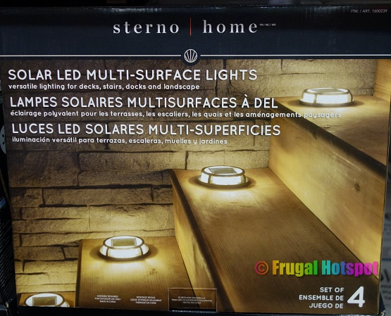 Sterno Home Solar LED Multi-Surface Lights   Costco
