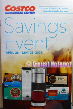 Costco Coupon Book MAY 2021 Business Center Cover