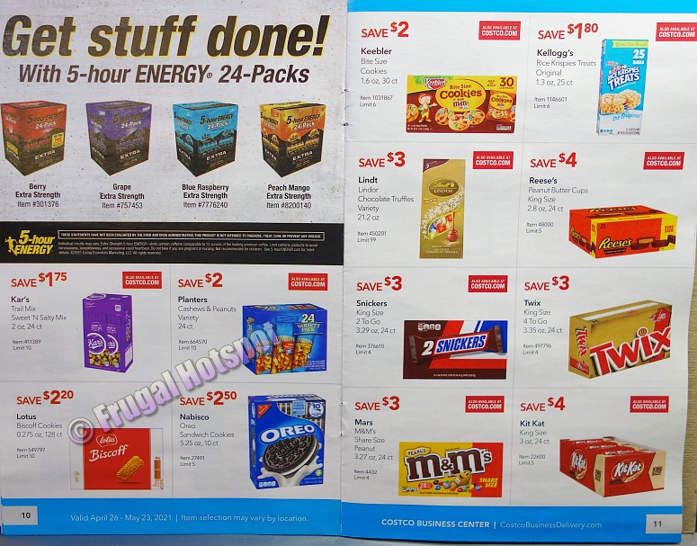 Costco Coupon Book MAY 2021 Business Center P10 P11