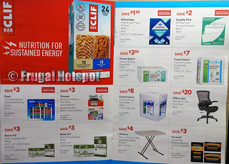 Costco Coupon Book MAY 2021 Business Center P20 P21