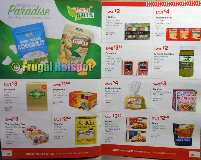 Costco Coupon Book MAY 2021 Business Center P28 P29