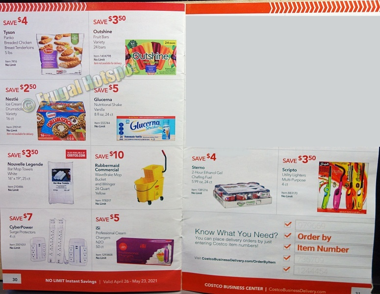 Costco Coupon Book MAY 2021 Business Center P30 P31