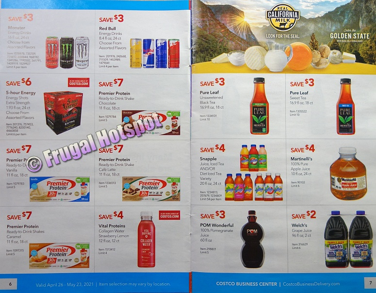 Costco Coupon Book MAY 2021 Business Center P6 P7