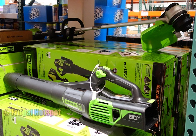Costco | Greenworks Pro 80V Cordless Trimmer and Blower