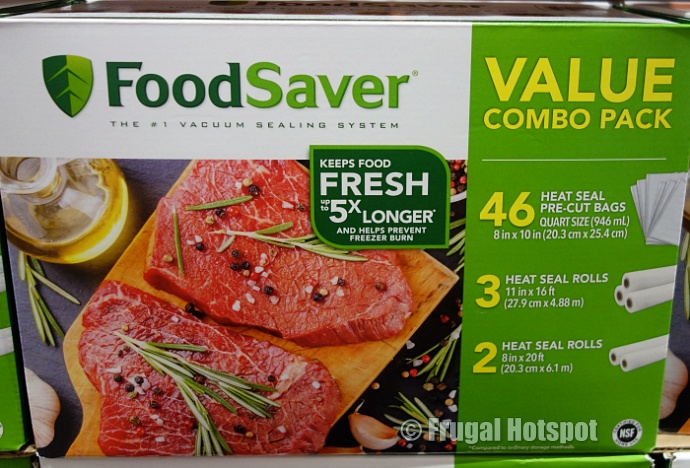 FoodSaver Bags and Rolls Combo Pack | Costco