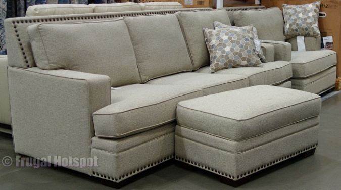 Garrison Thomasville Sofa, Chair, and Ottoman | Costco Display
