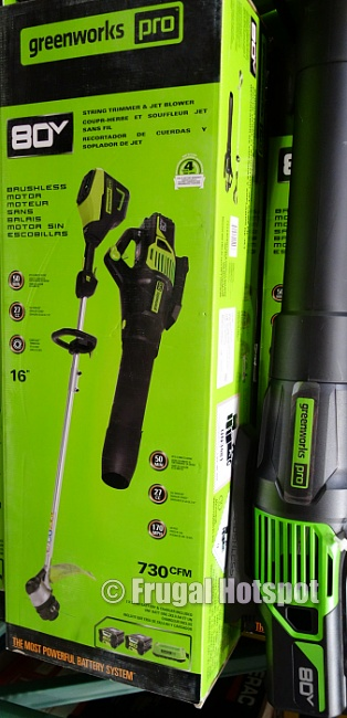 Greenworks Pro 80V Cordless Trimmer and Blower | Costco