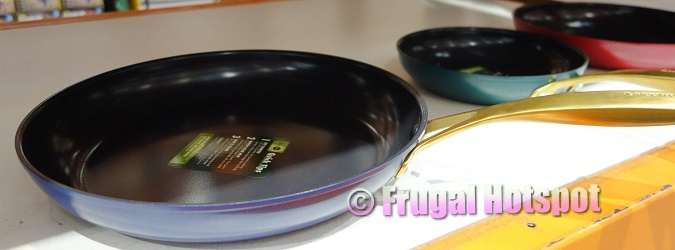 Interior of Original GreenPan Jewel Skillet Set | Costco