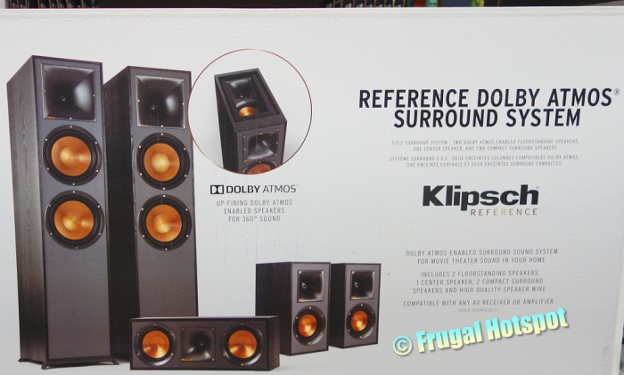 Klipsch Reference Dolby Atmos Surround System   Costco