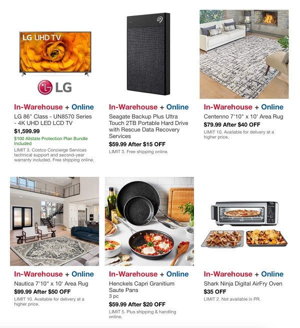 Costco HOT BUYS Sale MAY 2021 p5