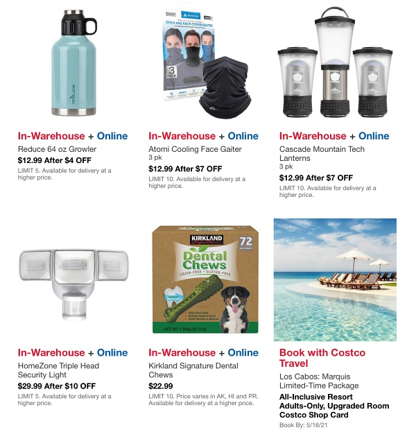 Costco HOT BUYS Sale MAY 2021 p6