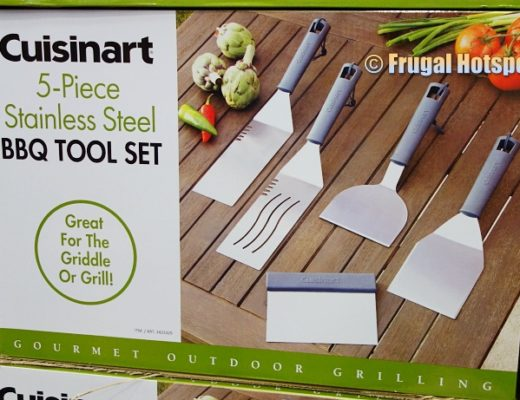 Cuisinart 5-Piece Stainless Steel BBQ Tool Set | Costco