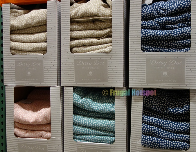 Ditsy Dot Bath Towel by Town & Country Living   Costco