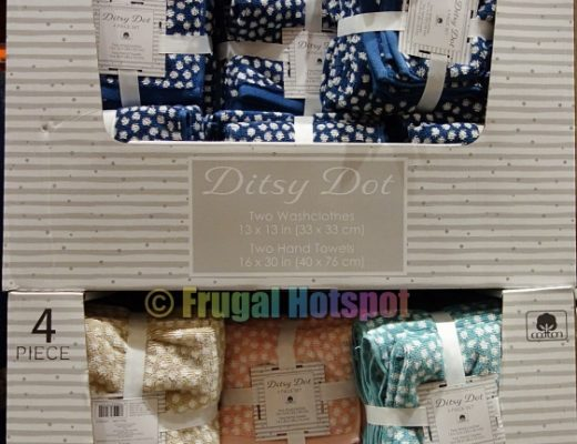 Ditsy Dot Washcloth and Hand Towel Set by Town & Country Living   Costco