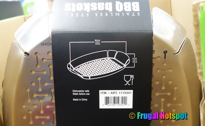 Stainless Steel BBQ Basket | Costco 2