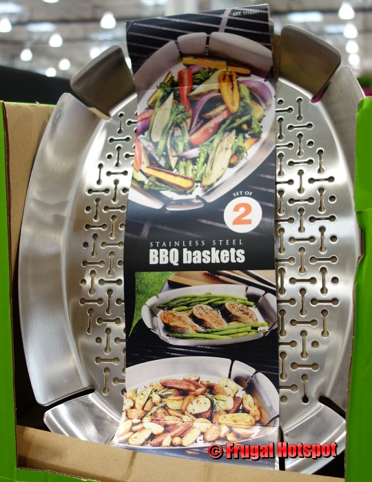 Stainless Steel BBQ Basket | Costco