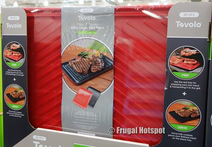 Tovolo Prep & Serve Extra Large BBQ Tray 2-Pack   Costco