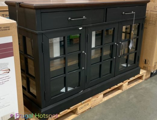 Bayside Furnishings Harry 60 Accent Cabinet by Whalen   Costco Display