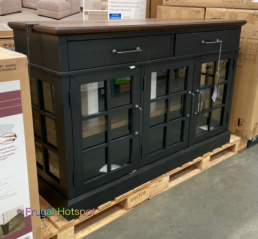 Bayside Furnishings Harry 60 Accent Cabinet by Whalen | Costco Display