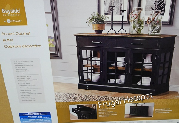 Bayside Furnishings Harry 60 Accent Cabinet by Whalen | Costco