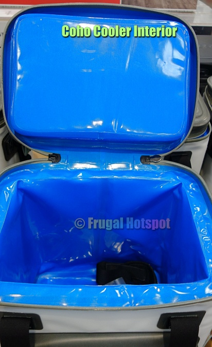 Coho 24-Can Soft Sided Cooler interior | Costco