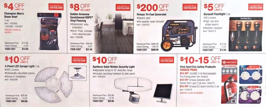 Costco JULY 2021 Coupon Book P12