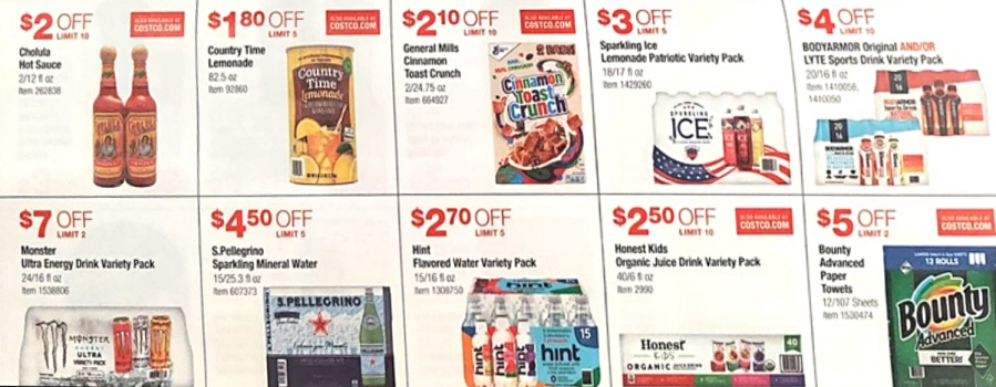 Costco JULY 2021 Coupon Book P17