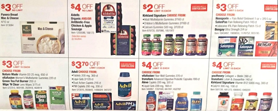 Costco JULY 2021 Coupon Book P20