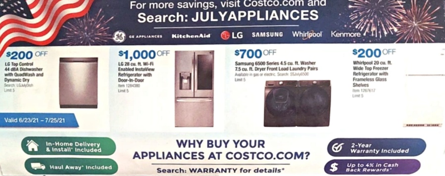 Costco JULY 2021 Coupon Book P4